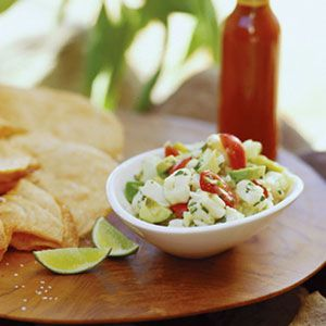 This is the BEST ceviche recipe ever!