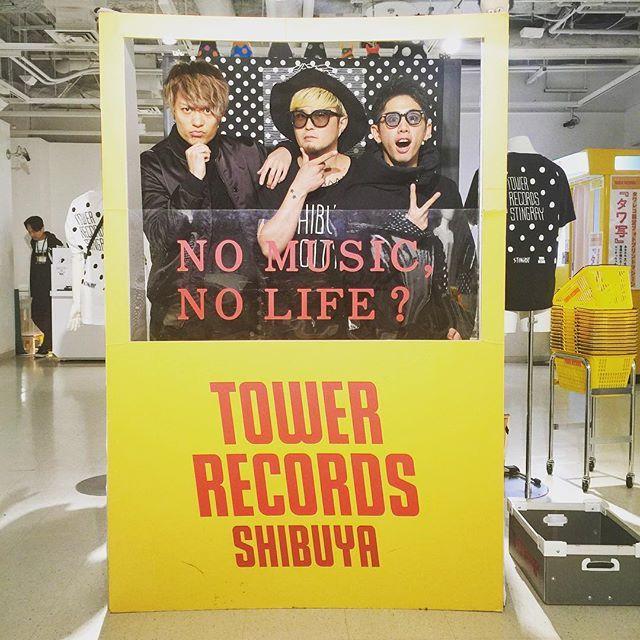 【STINGRAY渋谷限定ショップゲスト】 渋谷期間限定ショップにONE OK ROCKのTakaちゃんとToruが遊びに来てくれました🎶ありがとうございます!  #STINGRAY  #渋谷 #tower #oneokrock  #OOR