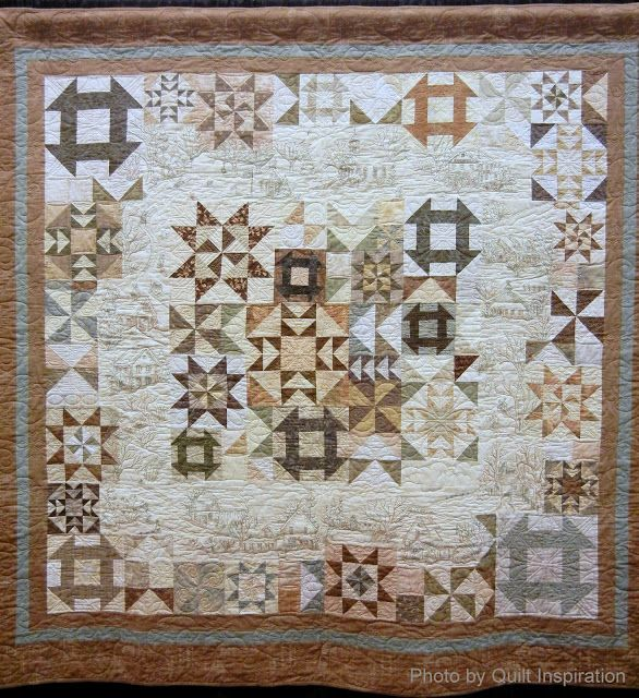 42 best Quilt: Snow Days images on Pinterest | Embroidery, Hand ... : snow quilts - Adamdwight.com