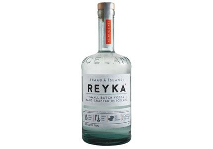 Reyka Vodka is from Iceland & one of the purist Vodka's on the market