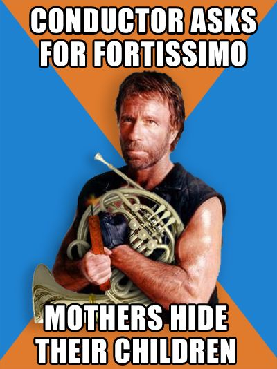 Chuck Norris Plays Loud Horn