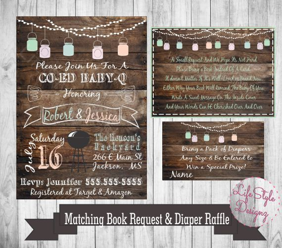 the 25+ best baby q shower ideas on pinterest | summer baby, Baby shower invitations
