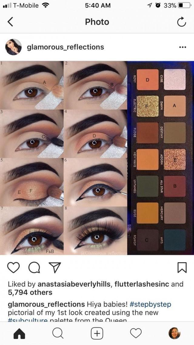 Makeup Tutorial Eye Makeup Makeup Ojos Eyeshadow Makeup