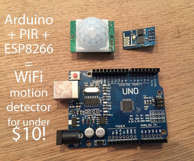 Hi there! This is my first instructable so if anything is unclear, please let me know and I'll try to explain it! My scenario was as follows: I have an external location of which I want to know if somebody's there. The easiest way to do this is using a motion detector (PIR) and an Arduino. There are a lot of examples of how to get this working using an Ethernet shield, but in my case I wanted to use the cheap (±$3) and new ESP8266 WiFi module. Since this module is fairly new, not much ...