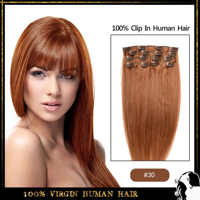 44 best clip in extensions images on pinterest african americans brazilian virgin human hair extensions 8pcs 100g clip in pmusecretfo Image collections