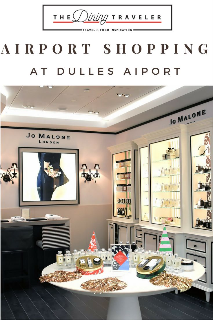 Where to Shop at Dulles International Airport, located right outside Washington, DC. From stocking up on makeup to a designer handbag, there are plenty of options to choose from.