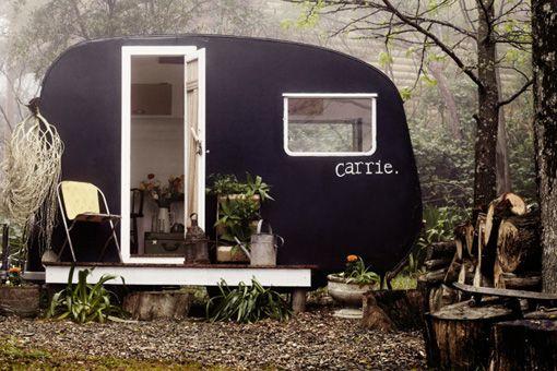 Refurbished Bubble Trailer Greenhouse   Backyard, Back Yard, DIY, Vintage, Salvaged, Repurposed, Reuse, Recycle, Airstream, Camper, Trailer, Work shop, Gardening, Storage, Woods, Chalkboard Paint