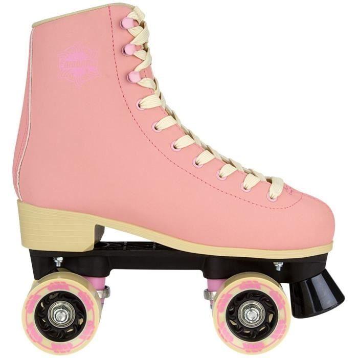Retro Roller Skates, Roller Skate Shoes, Roller Skating, Rollers, Rolling Skate, Sport Running, Skate Shop, Skate Girl, Pink Beige