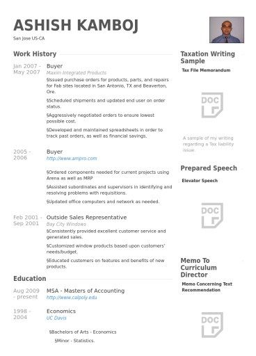 resume examples for fashion retail