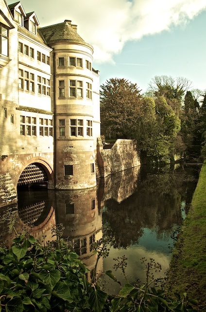 Coombe Abbey where Moi and Stuart spent their honeymoon!