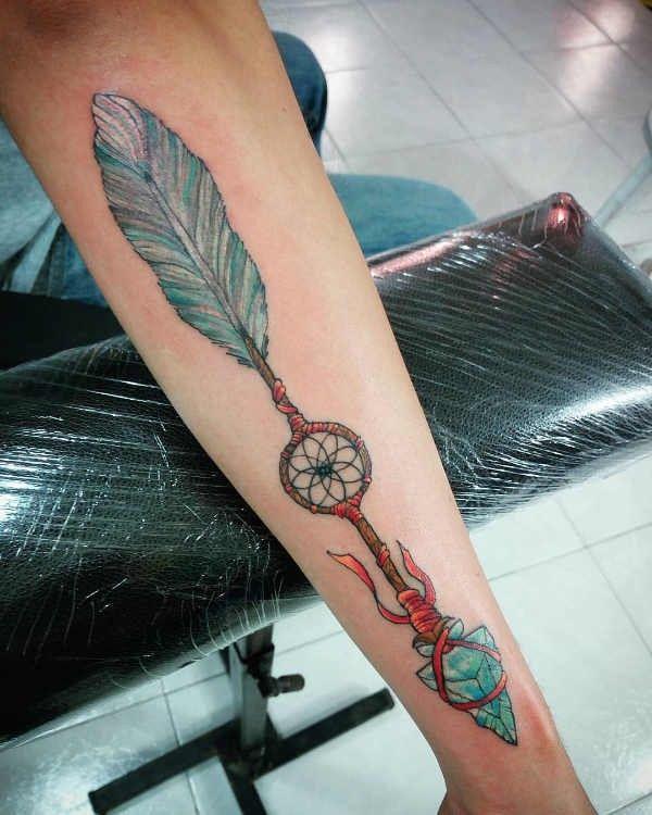 Pijl Tattoo Betekenis En Oorsprong 110x Tattoo Inspiratie