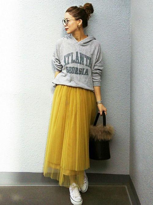 NICO│AMERI Skirt  Looks - WEAR