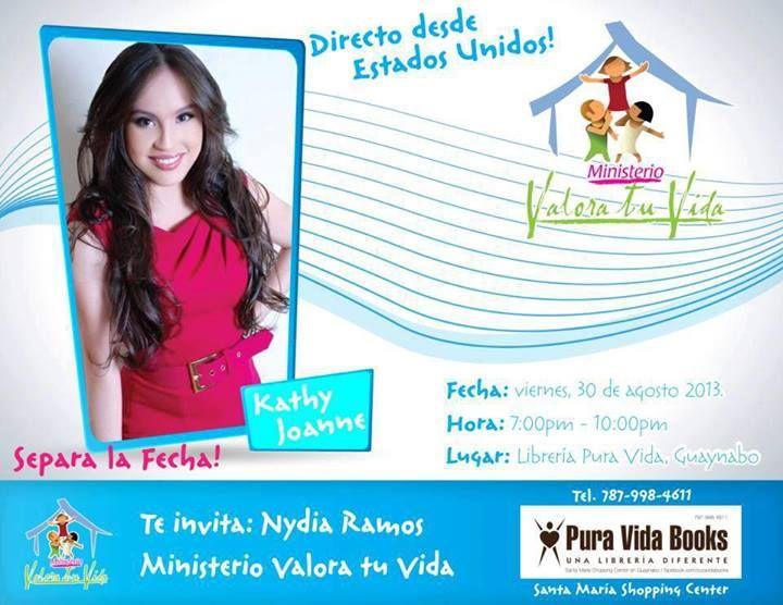 Kathy Joanne @ Librería Pura Vida, Guaynabo #sondeaquipr #kathyjoanne #puravida #guaynabo
