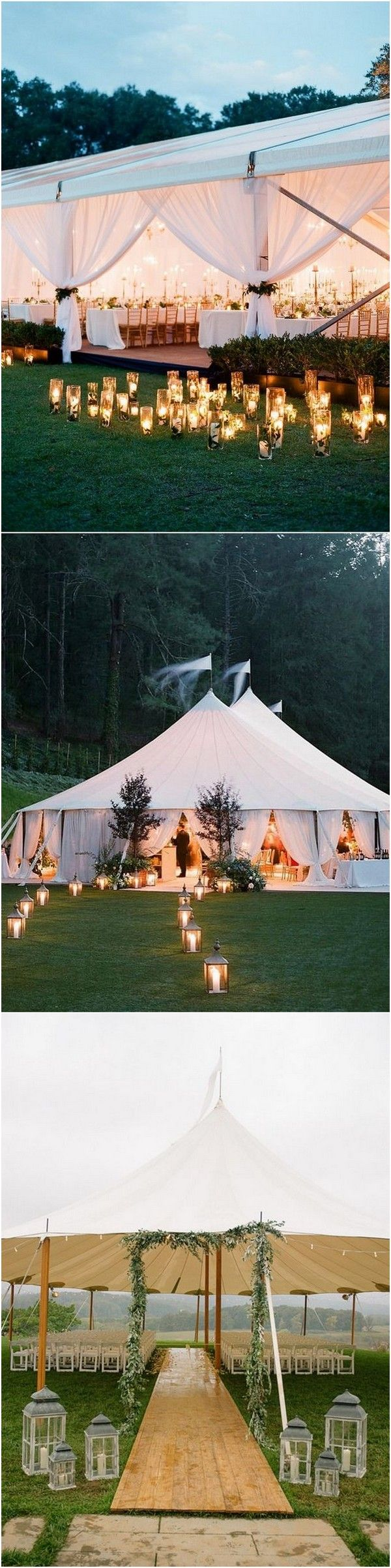 16 Gorgeous Wedding Entrance Decoration Ideas for Outdoor Tent Weddings