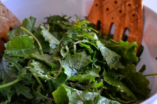 Green Vegetarian Cuisine of San Antonio TX - Kale Salad