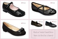 DO: Black or neutral toned dress shoes are appropriate funeral attire for girls. #loveliveson                                                                                                                                                                                 More