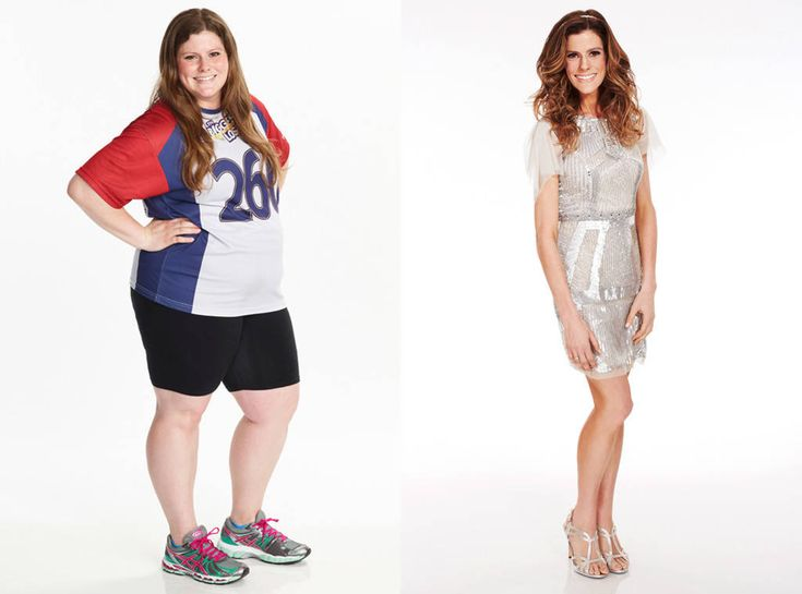 Rachel Frederickson from The Biggest Loser's Most Shocking Weight-Loss Transformations  The 24-year-old dropped from 260 pounds down to 105, losing almost 60 percent of her body weight.PHOTOS: Reality TV's Biggest Scandals
