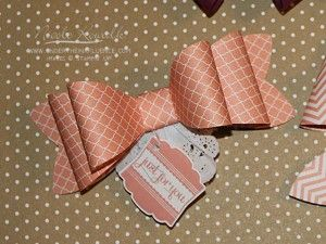 August 15, 2013 Elegant Gift Bows by Nicole: Gift Bow Big Shot die, Label Love from Stampin' Up