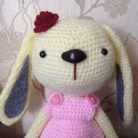 Crochet Rabbit by LaLalaArte on Etsy