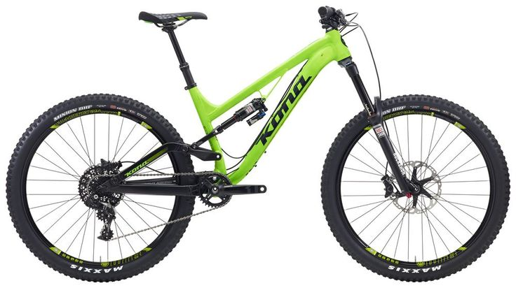 Kona Process 153 Dl Enduro Mountain Bike With Free Goods