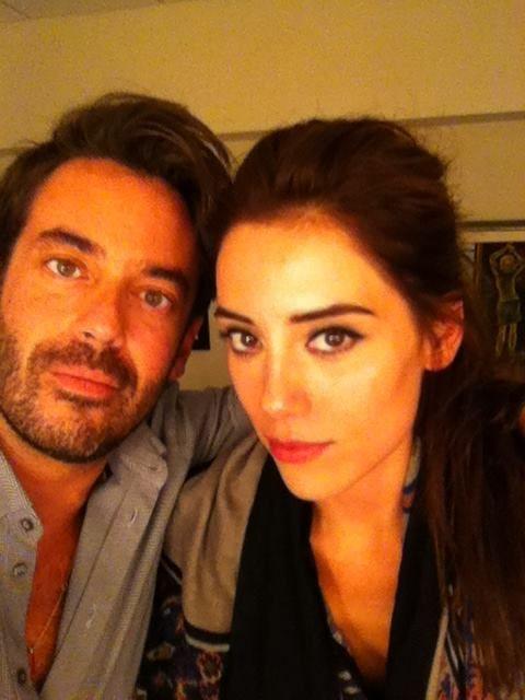 Cansu Dere Turkish Actress Hair + make up by Panos Kallitsis