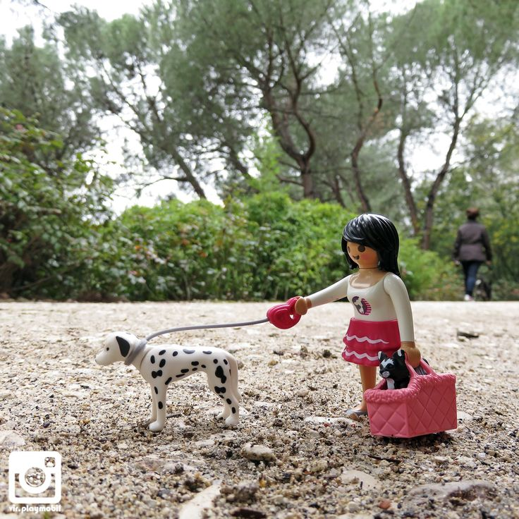 """The dog has beauty without vanity, strenght without insolence, courage without ferocity and all the virtues of man and none of the vices"", Lord Byron. ✒️ #playmobil [22/03/2015]"