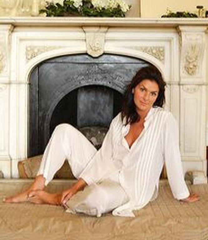 Silk pajamas Carla, for lounging and sleeping