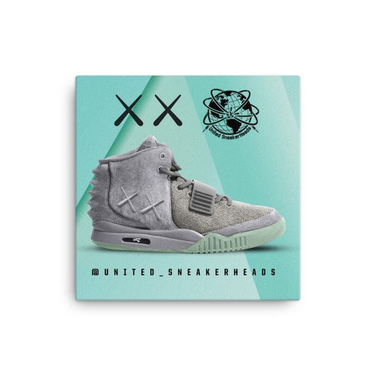 "Yeezy 2 ""Kaws"" Concept Canvas Art"
