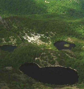 Lagunas de la Reserva de la Biosfera de Muniellos (Fuentes del Narcea)