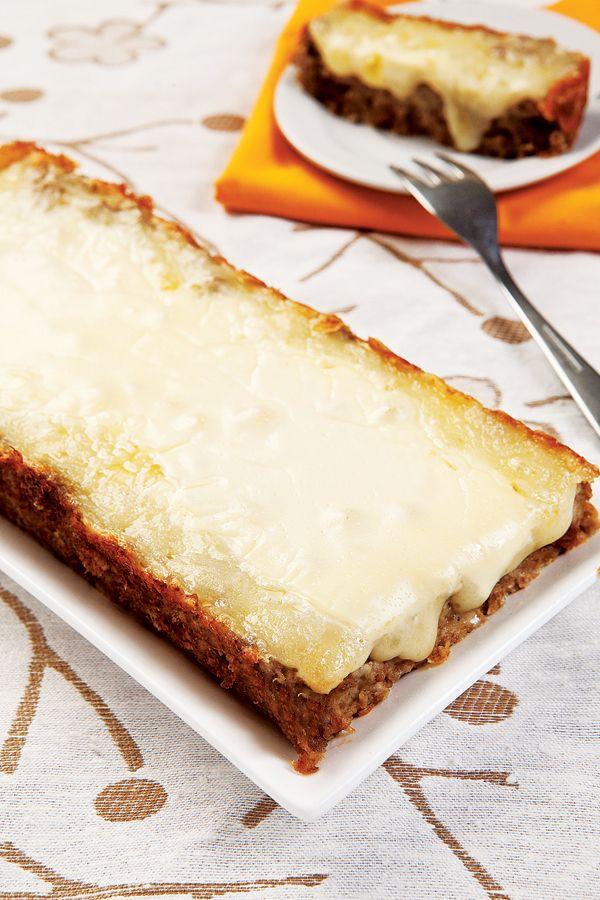 Carne moída ao forno com creme de cebola / DIY, Food
