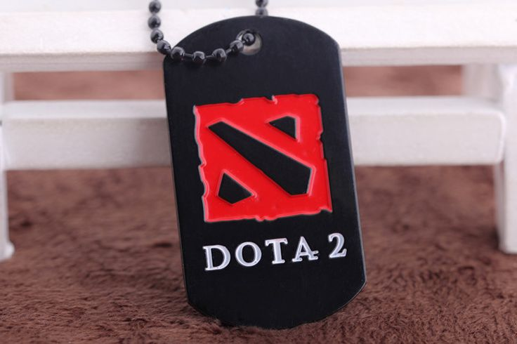 Game Sale Slide Jewelry Dota 2 Necklace Pendants Defense Of The Ancients Alloy