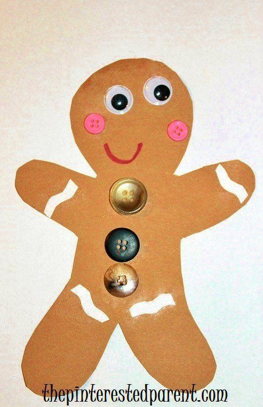 1000 ideas about gingerbread man crafts on pinterest for Gingerbread crafts for kindergarten