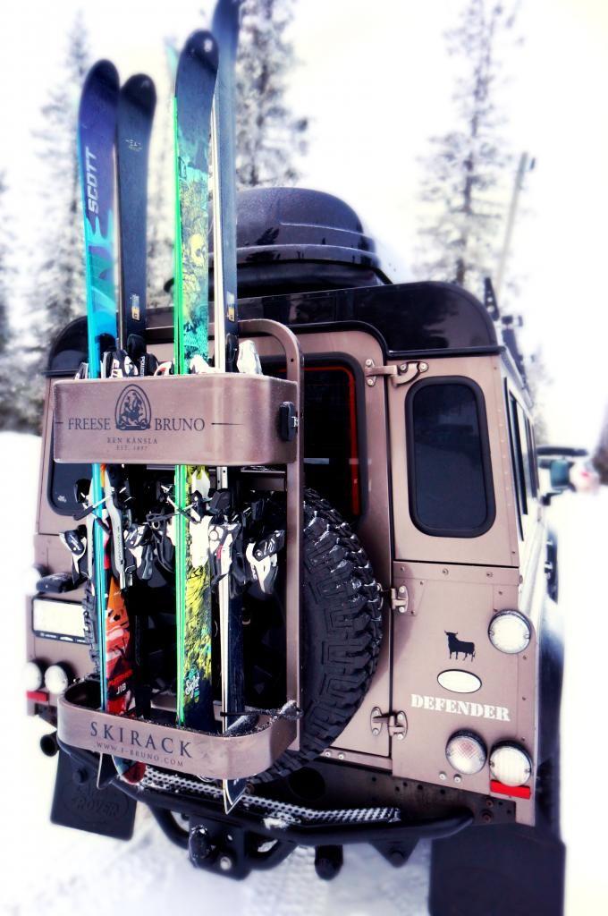 Freese & Bruno Skirack  #vinter #skidställ