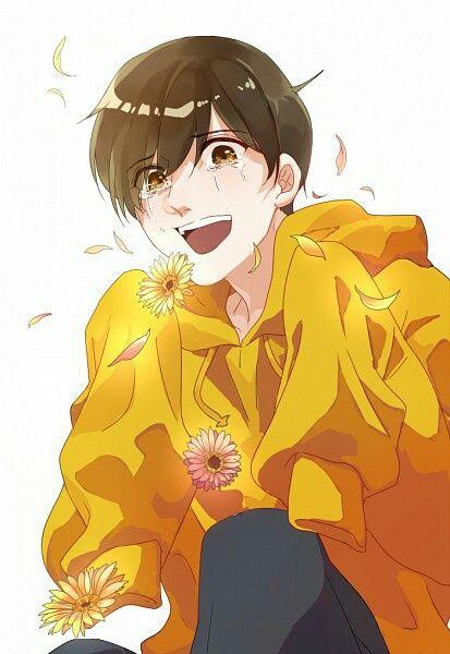 Osomatsu-san- Jyushimatsu #Anime「♡」Tears and Petals