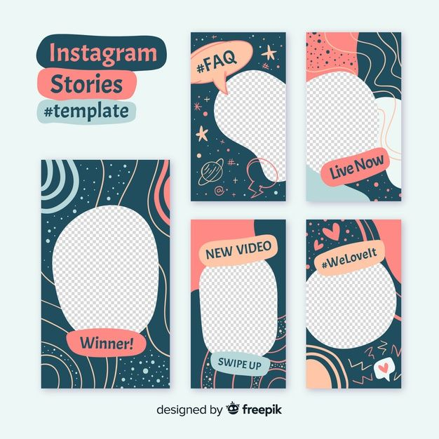 Download Instagram Stories Template With Empty Frame For Free Frames Design Graphic Instagram Template Design Instagram Design