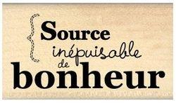 SOURCE DE BONHEUR Florilèges Design