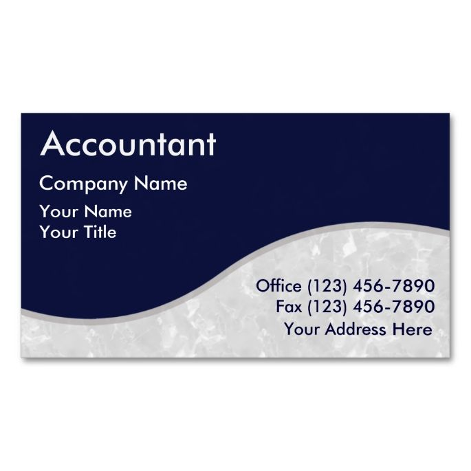 17 Best images about Accountant Business Cards on Pinterest ...