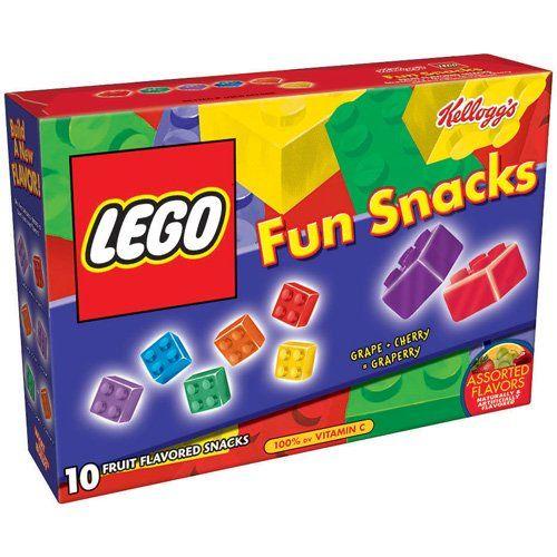 Ninjago party goody bag treat - Kellogg's Lego Fruit Flavored Snacks