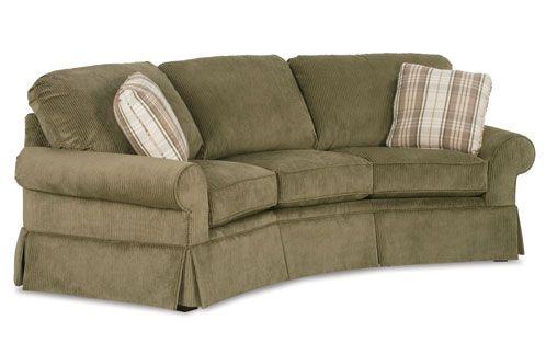 3 Cushion Curved Conversation Sofa Crofton Sofa Sofas