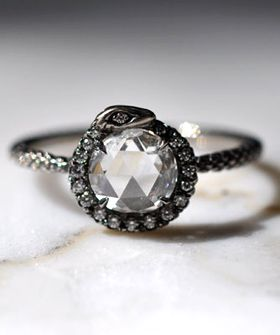 ouroboros wedding rings