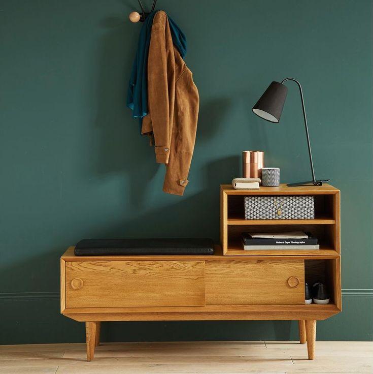 33 best ⌂ Maison Lu0027entrée images on Pinterest Mirrors, Coat - deco peinture entree couloir