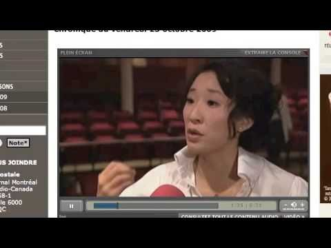 Sandra Oh - french Interview - YouTube