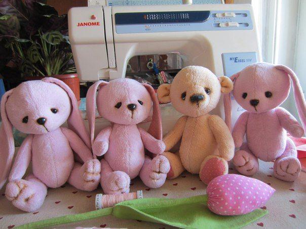 Мишки Тедди и куклы Одесса, тедди, тедди-малыши, тедди мишки, зайцы, teddy toy, hand made,teddy