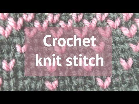 Lovely Heart Hat - Free crochet pattern Made by Wilma Waistcoat stitch hat