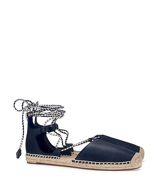 Visit Tory Burch to shop for Positano Lace-up Flat Espadrille and more  Womens View All. Find designer shoes, handbags, clothing & more of this  season's ...