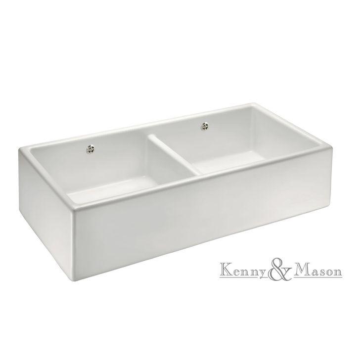 Lavello a 1 vasca / in ceramica KMPW1000 Kenny&Mason