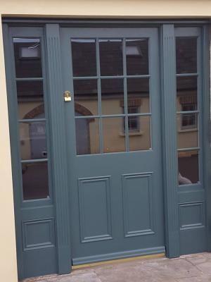 Inchyra Blue on our front door? Inside of door is Wevet I think