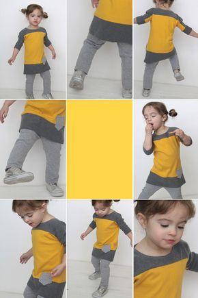 colorblocked dolman tee and leggings {refashioned wardrobe}