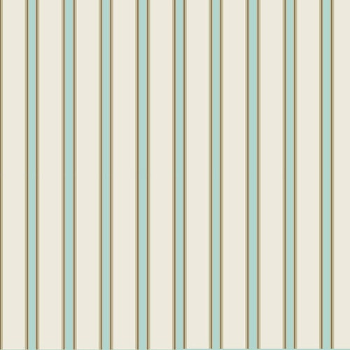 Printable beige and blue stripe dolls house wallpaper