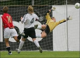 Alisa Vetterlein Goalkeeper VFL Wolfsburg   German Champion 2013  DFB Pokal winner 2013  Champions League Winner 2013